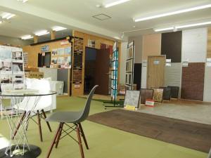 店内ショールームの写真