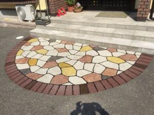 長岡市A様邸スプレーコンクリートの完成写真