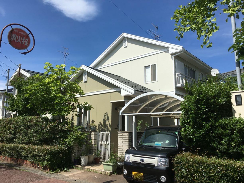 東区M様邸 外壁張替・塗装 屋根塗装 手摺塗装の写真