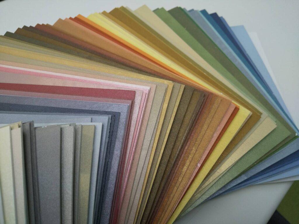 内装塗装の色見本