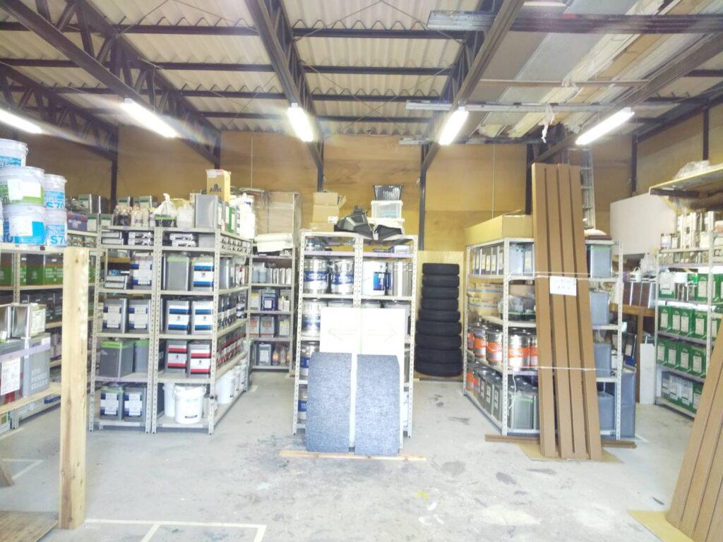 画像:株式会社 満天 倉庫内 環境整備1