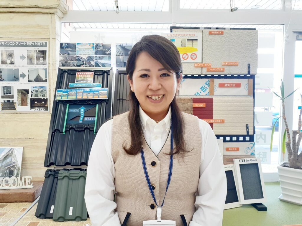 写真:女性スタッフの紹介